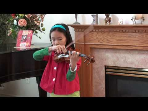 Mercedes Cheung (Age 8) Paganini: 24 Caprices, No. 24