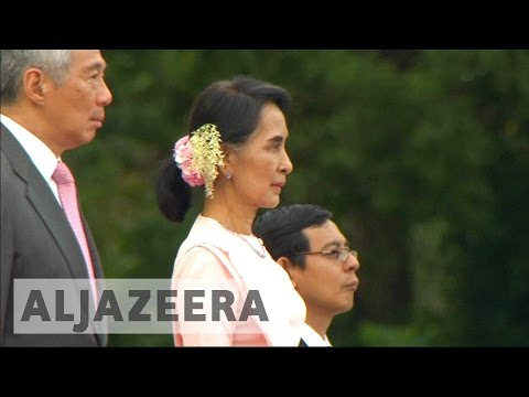 Aung San Suu Kyi criticised failing to protect Rohingya Muslims