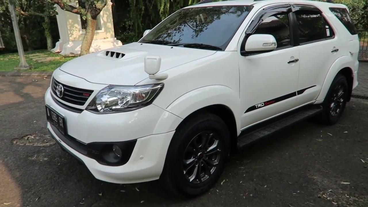Modifikasi Toyota Fortuner Trd Sportivo  Modifretro