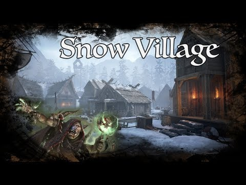 D&D Ambience - Snow Village