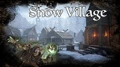 D&D Ambience - Snow Village