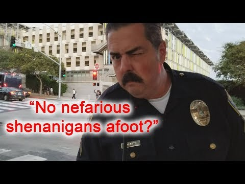 Santa Monica Police Department First Amendment Audit Officer Gwartz