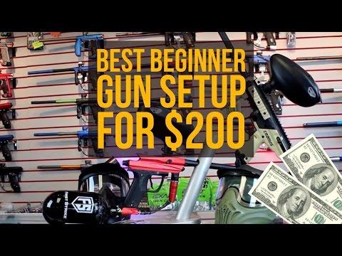 Best Beginner Paintball Gun Setup For $200! - March 2017