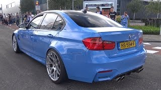 BMW M3 F80 Competition Package + M3 F80 w/ 3D Design Exhaust!