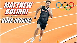 Matthew Boling SHOCKS THE WORLD || The 2021 Carolina Challenge 400 Meters