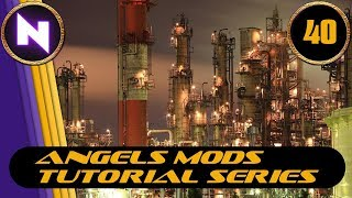 Factorio 0.16 - Angels Mods Tutorial Lets Play #40 VEGETABLE OIL TECH