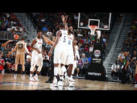 Argentina vs USA Rio Olympic 2016 Basketball FULL GAME | HD Graphics