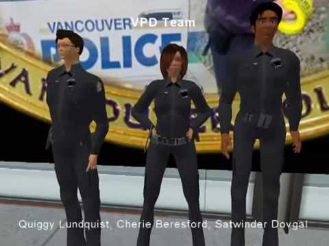 Vancouver Police Dept becomes the first RL police in Second Life