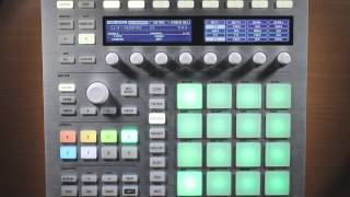 Intro to Maschine MK2 - Pt 12 - Pad Mode Menu