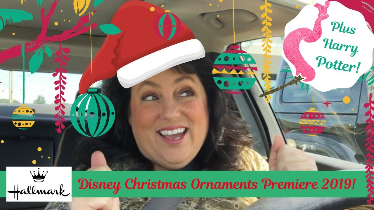 Hallmark Christmas In July 2019.Disney Hallmark Christmas Ornament Premiere July 2019