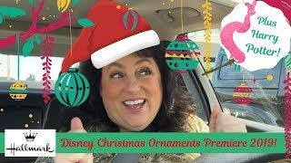 DISNEY Hallmark Christmas Ornament Premiere!   July 2019