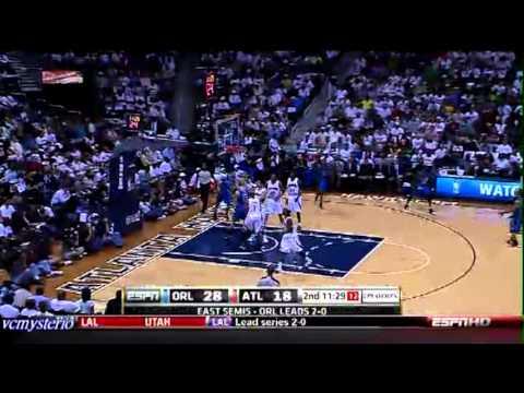 Orlando Magic All Field Goals Highlights vs Atlanta Hawks - 2010 Playoffs Game 3