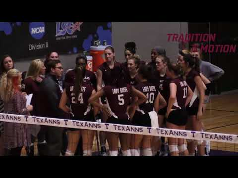 WTAMU Volleyball 2017 NCAA Selection Show & Interview