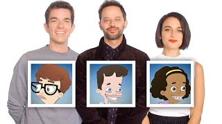 "John Mulaney, Nick Kroll, and Jenny Slate Recap ""Big Mouth"" Season 1 in 10 Minutes 