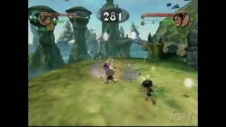 Tak: The Great Juju Challenge GameCube Gameplay - Tak and