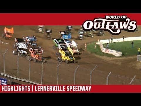 World of Outlaws Craftsman Sprint Cars Lernerville Speedway September 23, 2017 | HIGHLIGHTS