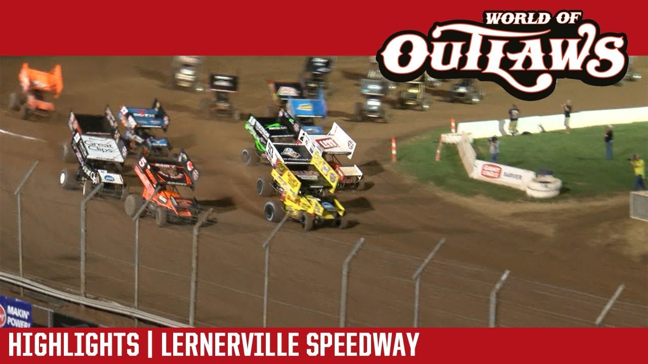 world-of-outlaws-craftsman-sprint-cars-lernerville-speedway-september-23-2017-highlights