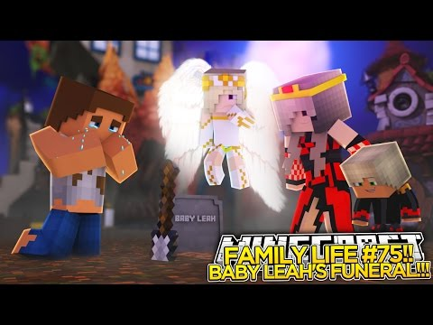 FAMILY LIFE (75)|| BABY LEAH TURNS INTO AN ANGEL!!!!- Baby Leah Minecraft Roleplay!