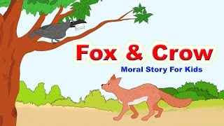 Fox and Crow Story In English I Moral Bedtime Stories For Kids In English | English Stories For Kids