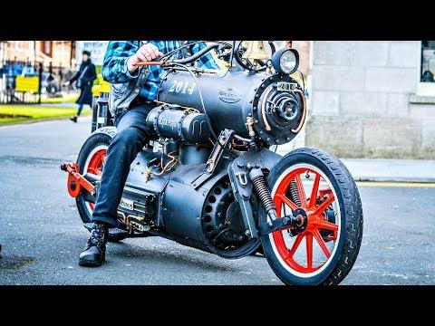 😤 Мотоциклы на Пару - ПароМотоциклы 💨!