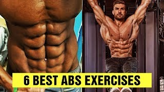 6 BEST 6 Pack ABS Exercises - Gym Body Motivation