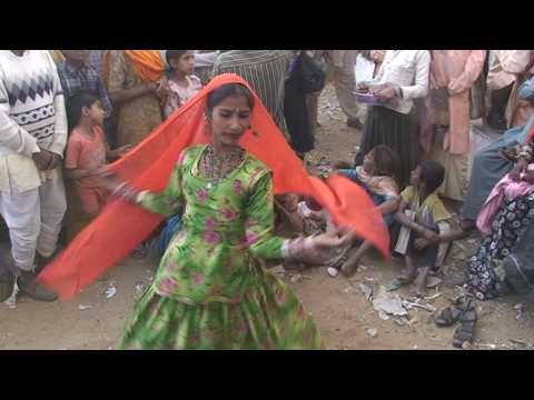 Pushkar Camel Fair, Rajasthan Gypsy (Kalbeliya)  Music and Dance (Anita and Family)