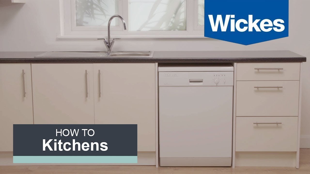 How To Hang Wall Cabinets With Wickes Youtube