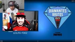 Viendo el torneo de Fortnite de Lolito en vivo!!
