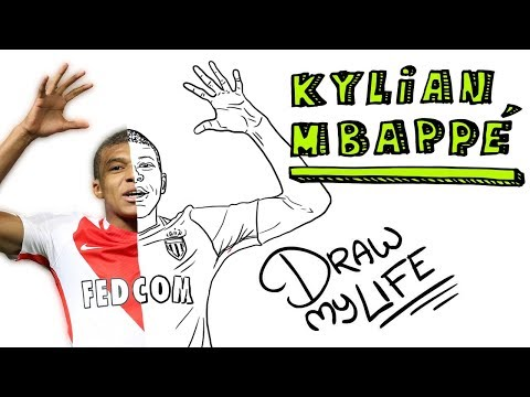 Download Youtube: KYLIAN MBAPPÉ ⚽️   Draw My Life