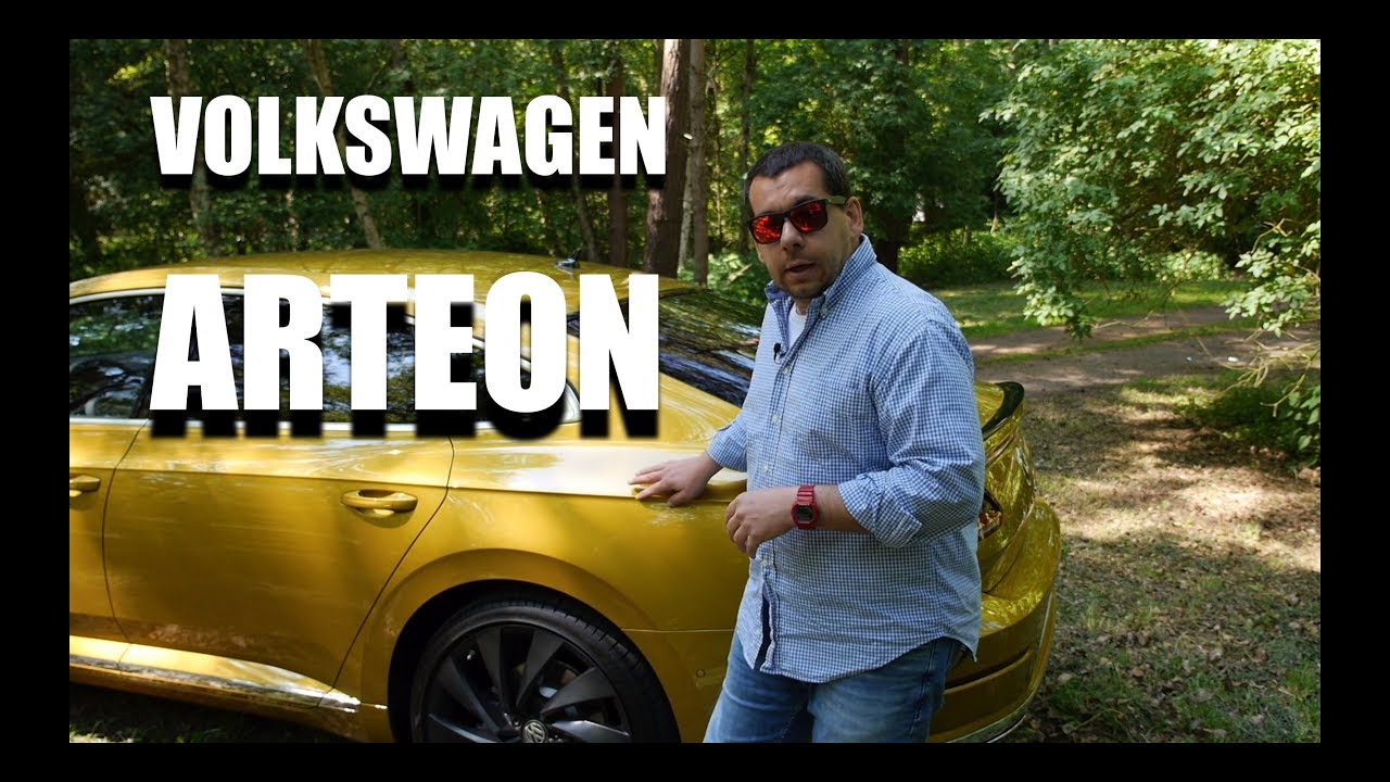 Volkswagen Arteon (ENG) – First Test Drive and Review