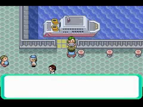 "Pokémon Emerald ""Guess Who?"" glitch - play as random NPCs (do not save after!)"