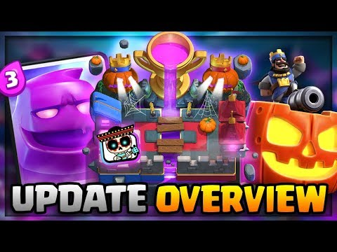 Season 4 SHOCKTOBER ARENA, LEGENDARY SKIN, CHAINED QUEST! Clash Royale OCTOBER UPDATE