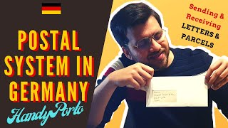 How to send a leтter from Germany | Using Handyporto | Writing German postal address