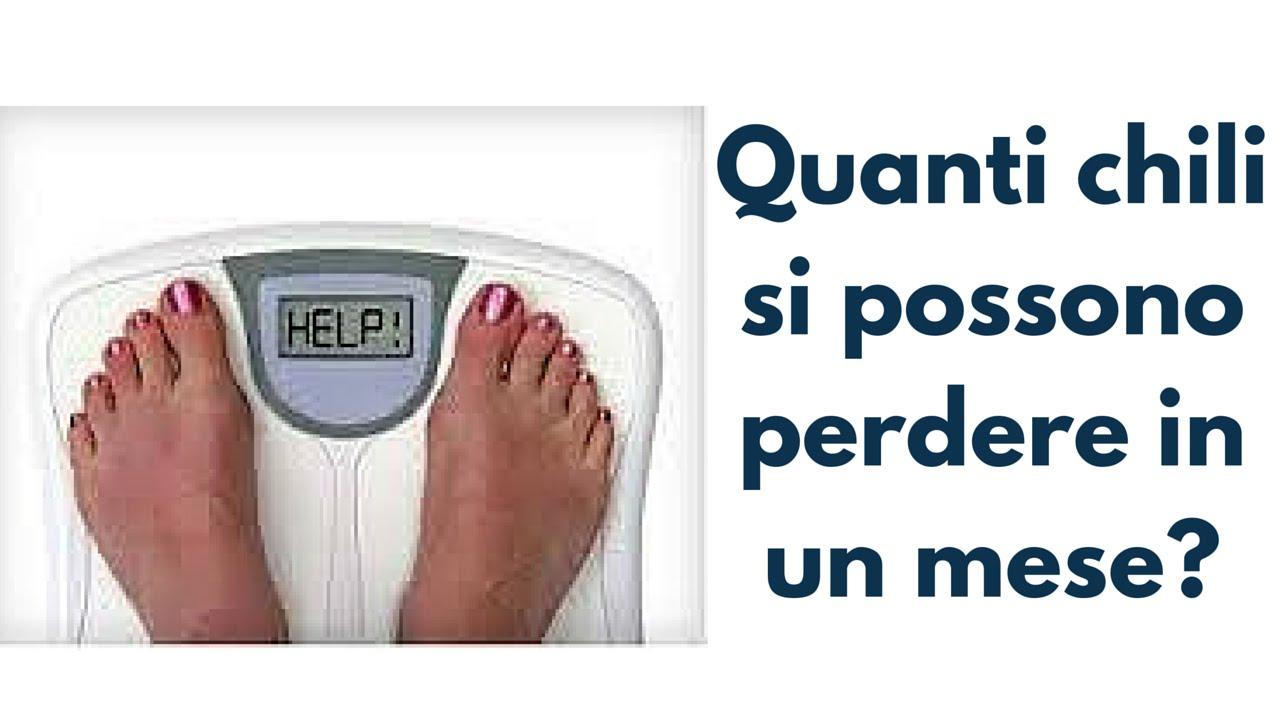 si possono perdere 10 kg in 3 mesi