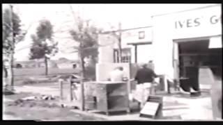 The Great 1938 flood at Anaheim, California