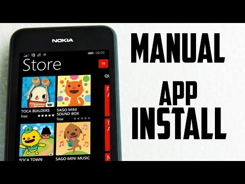 Download and Install Apps and Games on Windows Phone Manually