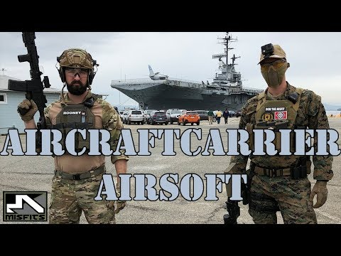 Aircraft Carrier Airsoft | Milsim Maritime Operation High Tide (Custom MK18 gameplay)