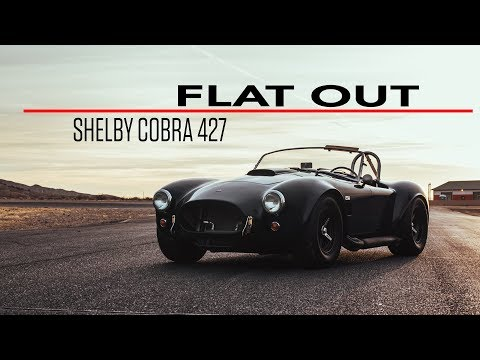 Shelby Cobra 427 rallies loud and proud around Streets of Willow Springs   Flat Out