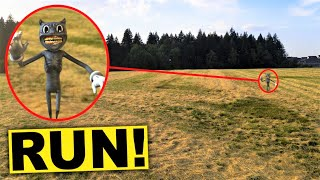 My drone caught cartoon cat on camera!! (cartoon sighting drone) - in this video i decided to head over a creepy forest next an abandoned...
