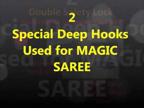 Etash Magic Saree   Worn in 40 Second HD v2
