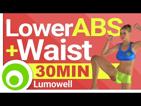 Lower ABS and Waist Exercises - 30 Minutes