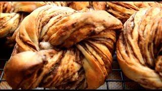 チョコマーブルパン chocolate marble buns