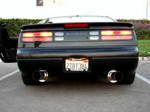 300zx twin turbo hks hi power exhaust