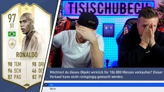 SIMON möchte RONALDO 97 DISCARDEN!!!😱😵 | Tisi Schubech FIFA 19 STREAM HIGHLIGHTS