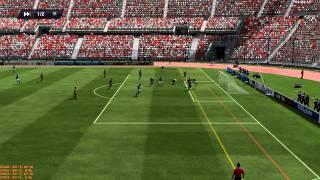 Fifa 13 PC - Gameplay Online - Palmeiras e São Paulo