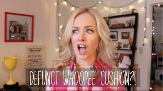 MY DEFUNCT WHOOPEE CUSHION // Kate Welshofer