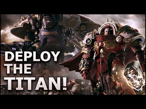 DAWN of WAR III: Deploy the IMPERIAL KNIGHT! - Space Marines 1v1 Gameplay (Beta)