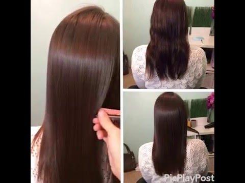 Кератиновое выпрямление волос в Новосибирске цена