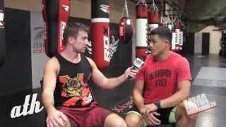 Johnny Nunez talks about The Ultimate Fighter - TUF 22 -1st 3 episodes