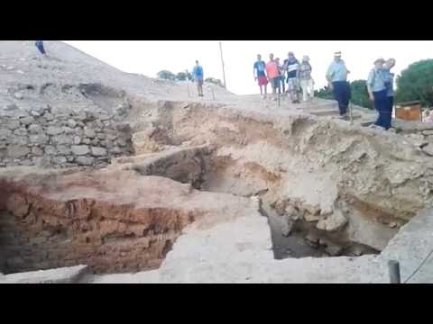 Tel Jericho (Tell es-Sultan), the place that was destroyed by Prophet Joshua. Guide: Zahi Shaked